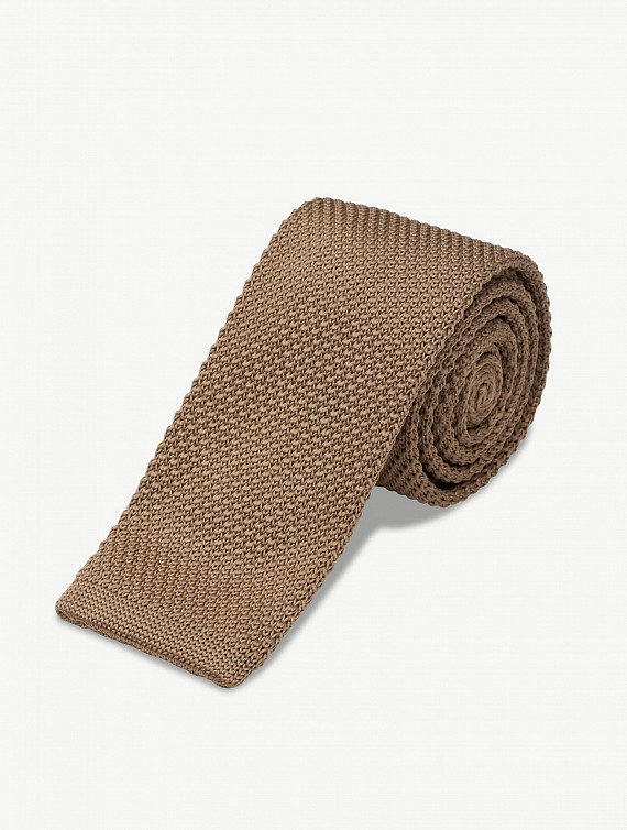 image: Bryson tie knitted