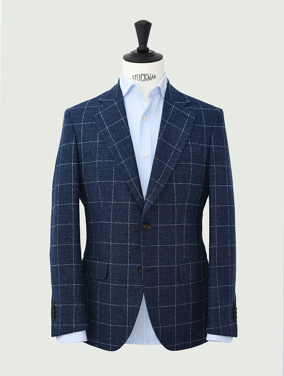 image: Twain jacket fil-a-fil windowpane