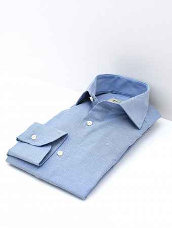 Leon shirt washed oxford chambray