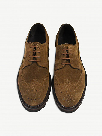 Liam wing tip brogue