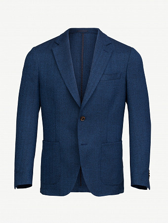 Twain jacket herringbone